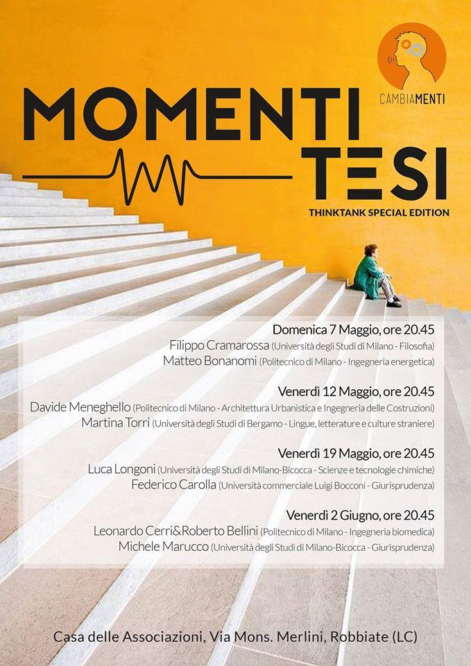 Momenti tesi – Calendario