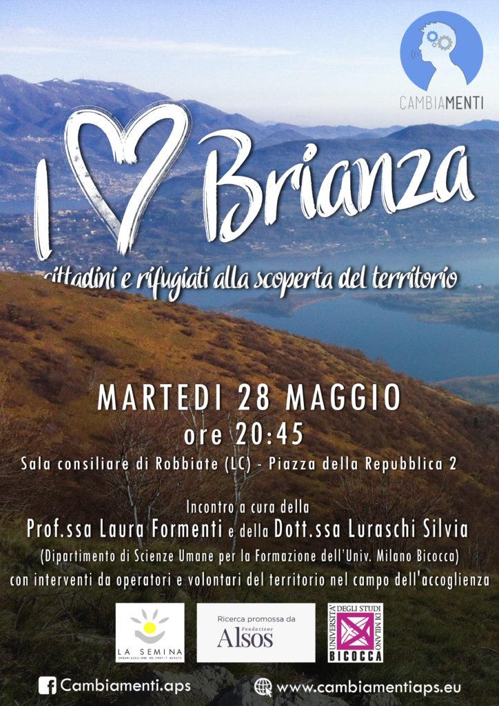 I love Brianza: cittadini e rifugiati alla scoperta del territorio